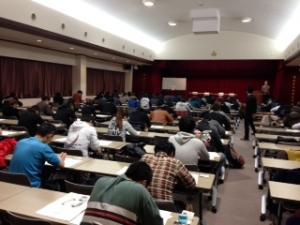柔道整復学科 3年生 卒業試験