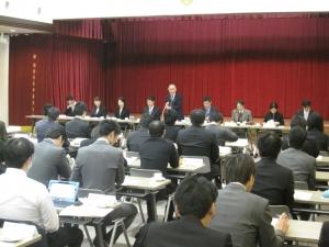 実習指導者調整会が開催されました。