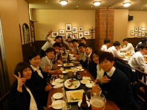 柔道整復学科2年生合同クラス会