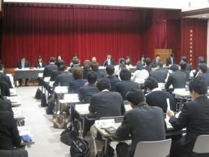 実習調整会議が開かれました