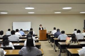 ハラスメント防止に対する研修会を行いました。