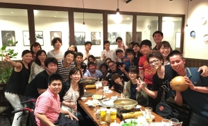 T1B(東洋医療鍼灸学科 夜間部 1年) のクラス会