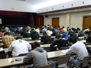 10月9日(日)入学試験
