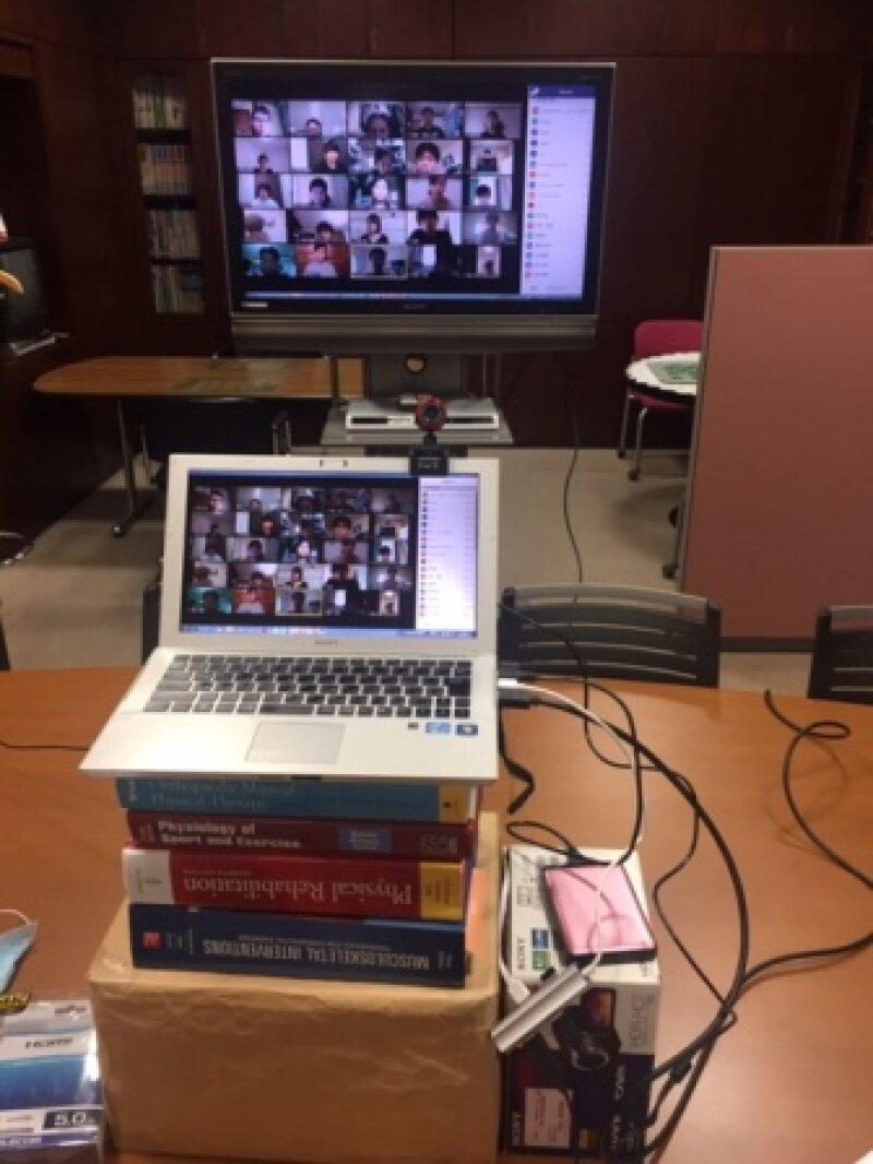 オンライン授業 理学療法学科