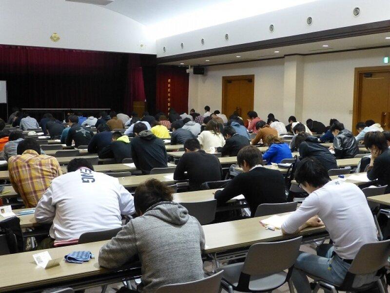 9月20日(日)入学試験