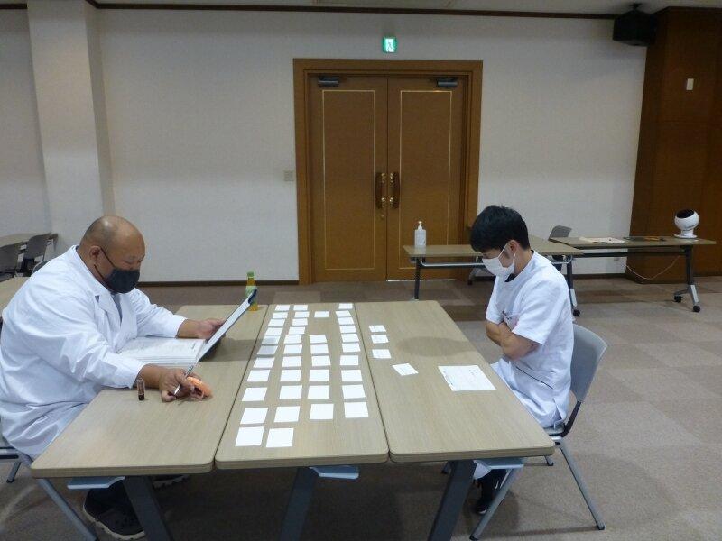 卒業実技試験口頭試問を行いました